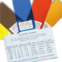Defelsko Non-Certified Plastic Shims